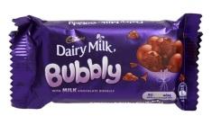 吉百利 - Bubbly牛奶朱古力排裝