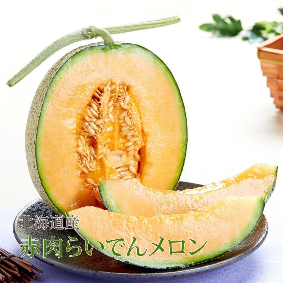大果欄 - 北海道 赤肉蜜瓜 (秀等級) 1