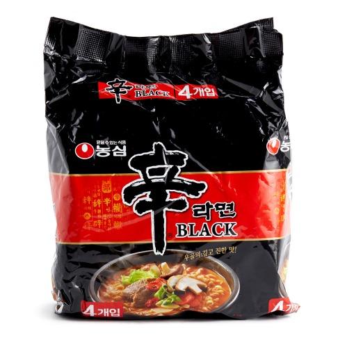 農心 - 韓國黑版辛辣麵